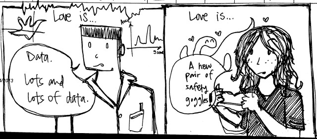 Love is... an extra comic! <3