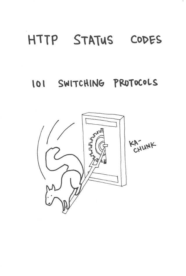 HTTP 101 Switching Protocols