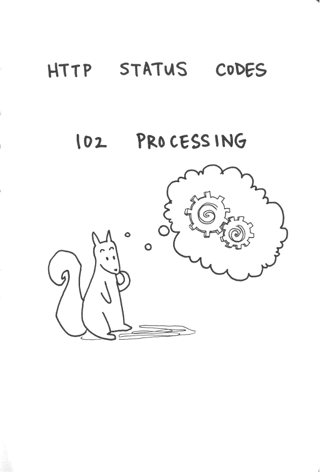 HTTP 102 Processing
