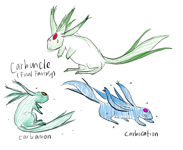 TIL a carbuncle is also something not as cute-looking.