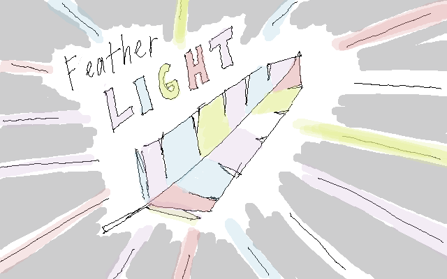 ... feather bright, first feather i see tonight