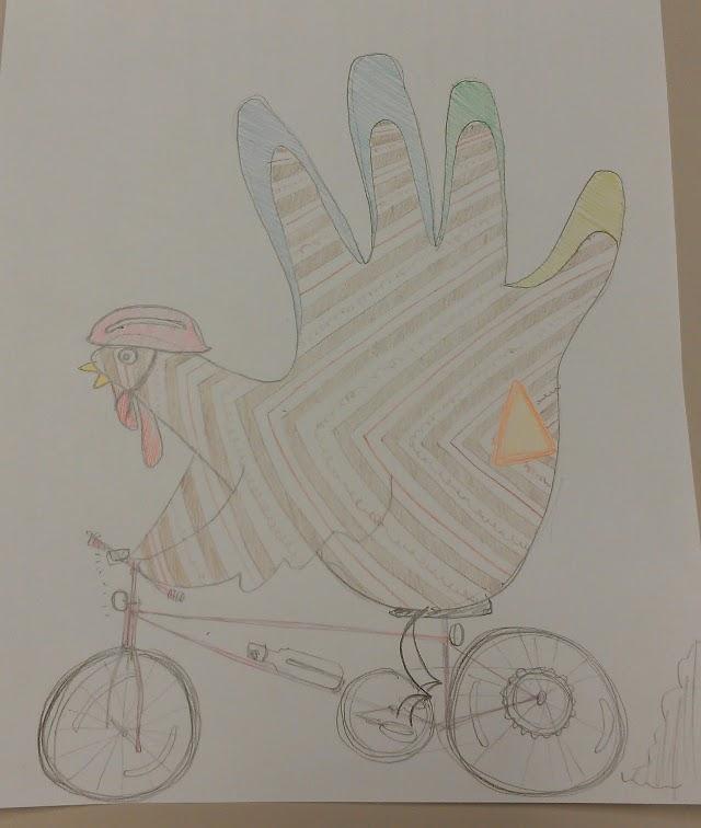 my helping hand-turkey