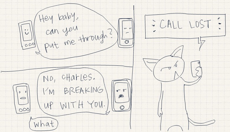 yes, this is how cell phone reception works.