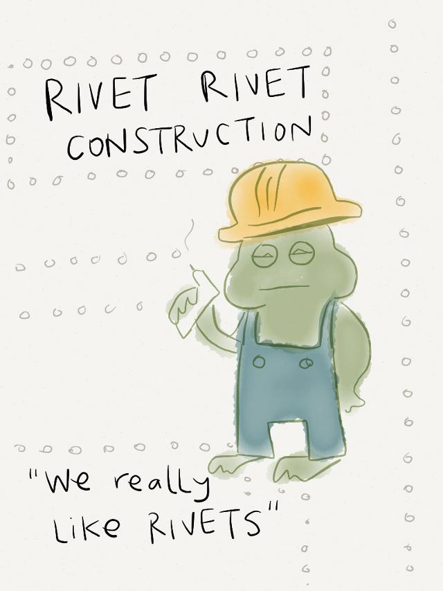 RIVETS.