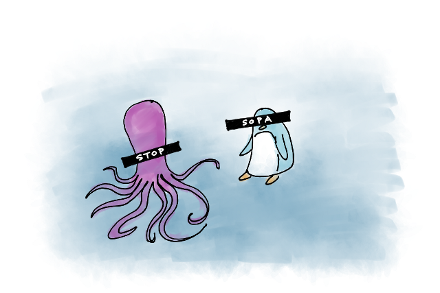Nothing funny about it. This is an issue that concerns all of us, octopi and penguins included.